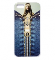 Fashion Protective case с камнями for iPhone 5/5S (000601)