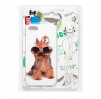 Fashion Protective dogs case for iPhone 5/5S (000598)