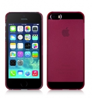 Чехол для телефона iPhone 5/5S Momax Clear Breeze cover case for red (000638)