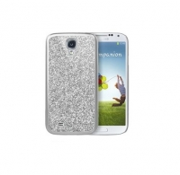 Чехол для Samsung i9500 Galaxy S IV iCover Glitter cover case for silver (000473)