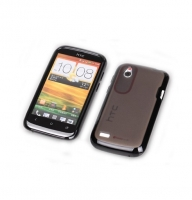 Чехол для HTC Desire V T328w Yoobao 2 in 1 Protect case black (000120)