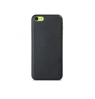 Чехол для iPhone 5C Melkco Air PP 0.4 mm cover case black (27696)