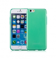 Чехол для iPhone 6 Momax Clear Twist TPU case for Apple green (030351)
