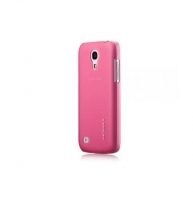 Чехол для Samsung i9190 Galaxy S4 Mini Momax Ultratough Transparent case pink (025441)