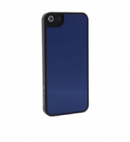 Чехол для iPhone 5/5S iCover Mirror cover case for blue/black (000452)