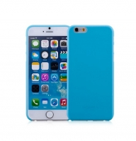 Чехол для iPhone 6 Momax Membrane case 0.3 blue (031875)