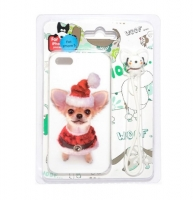 Fashion Protective dogs case for iPhone 5/5S (000605)