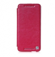Чехол для HTC HOCO Crystal leather case for One Mini rose red (000669)