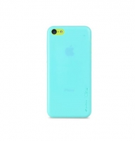 Чехол для iPhone 5C Melkco Air PP 0.4 mm cover case blue (27701)