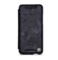 Чехол для HTC HOCO Crystal leather case for One Mini black (000668)