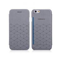 Чехол для iPhone 6 Momax Flip Diary Elite Series grey (000758)