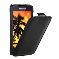 Чехол для Lenovo A390 Melkco Jacka leather case for black (000564)