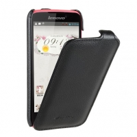Чехол для Lenovo A516 Melkco Jacka leather case for black (000565)