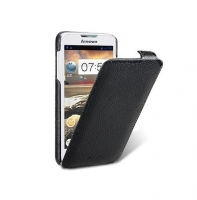 Чехол для Lenovo A680 Melkco Jacka leather case for black (000566)