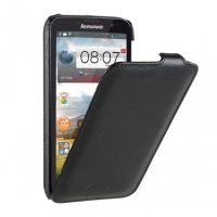 Чехол для Lenovo A850 Melkco Jacka leather case for black (000569)