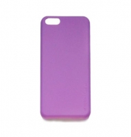 Чехол для iPhone 5/5S Melkco Air PP 0.4 mm cover case purple (27693)