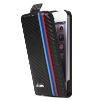 Чехол для iPhone 5/5S BMW M collection flip case for carbon (BMFLP5MC)