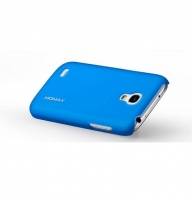 Чехол для Samsung i9190 Galaxy S4 Mini Momax Ultratough Transparent case blue (025440)