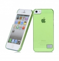 Чехол для iPhone 5/5S HOCO Crystal Colorful protective cover case for trans green (000245)