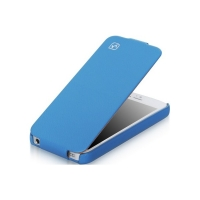 Чехол для iPhone 5/5S HOCO Duke flip leather case for blue (000250)