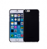 Чехол для iPhone 6 Momax Membrane case 0.3 black (new) (031867)