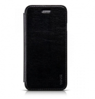 Чехол для iPhone 6 HOCO Crystal series classic leather black
