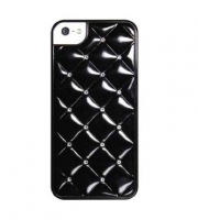 Чехол для iPhone 5/5S iCover Quilting cover case for black (000456)